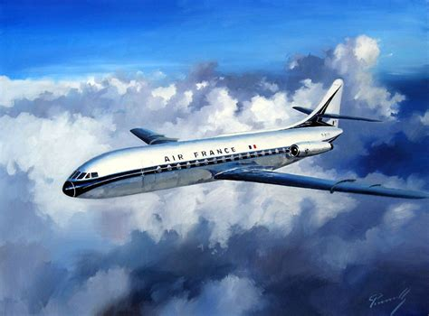 sud aviation caravelle par lucio perinotto kitchener