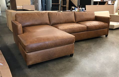 Chestnut Leather Sofa by Arizona Laf Sofa Chaise Sectional Berkshire Chestnut
