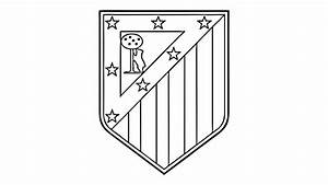 How to Draw the Atlético Madrid Logo (CA) - YouTube