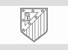 Comment dessiner le logo Atlético Madrid CA YouTube
