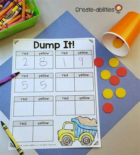 Dump It! For Combinations Of 10  Numeracy  Pinterest  Math, Kindergarten And Kindergarten Math