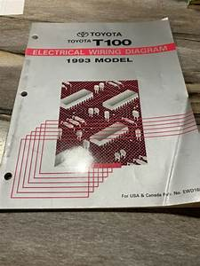 1993 Toyota T100 Truck Electrical Wiring Diagram Manual
