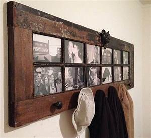 DIY Rustic Decorating A Door Picture Frame