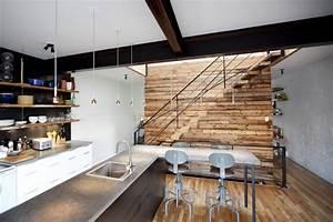 Mur En Bois Intérieur Decoratif : dans une maison pr s de chez vous immobilier ~ Teatrodelosmanantiales.com Idées de Décoration