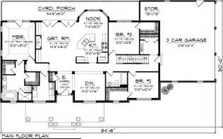 ranch floor plan ranch house plan 73152 see more best ideas about house plans nooks and breakfast nooks