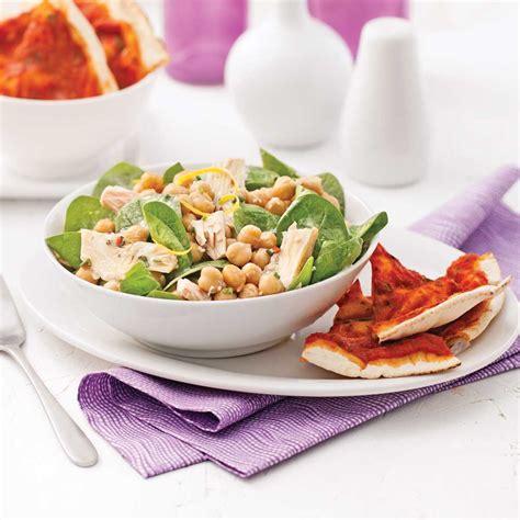 cuisine pois chiche salade de pois chiches et thon recettes cuisine et