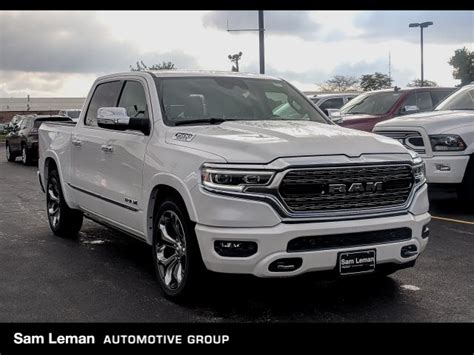 new 2019 ram all new 1500 limited crew cab in bloomington r19045 sam leman chrysler jeep