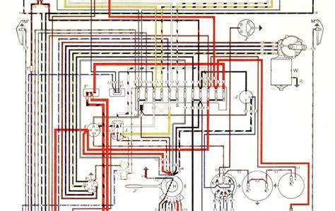 auto wiring diagram  vw karmann ghia models