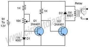 temperature sensor using diode circuit diagram With temperature sensor led meter circuit diagram