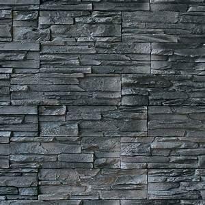 Wand Mit Steinoptik : wandverkleidung 11 2 x 39 cm anthrazit steinoptik ~ Watch28wear.com Haus und Dekorationen