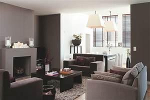 couleur rideau avec mur gris maison design bahbecom With awesome association de couleur avec le taupe 5 deco salon prune