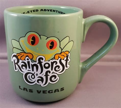 Explore full information about cafes in las vegas and nearby. Rainforest Cafe Las Vegas coffee mug/cup green frog 1999 ...