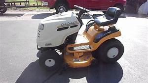 Cub Cadet Lt1042 42 U0026quot  Yard Tractor Lawn Mower 19 Hp Kohler