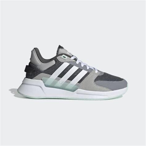 adidas run  shoes grey adidas