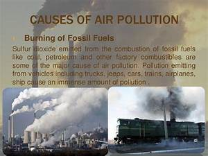 air pollution with case study