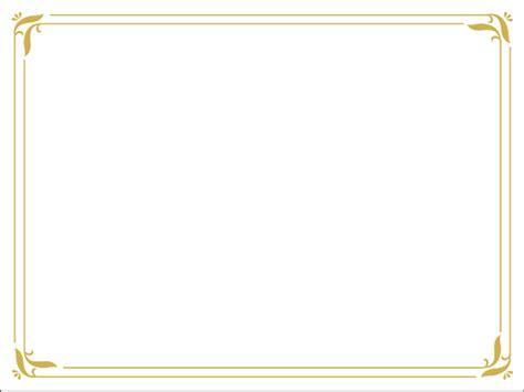 microsoft borders  frames templates certificate
