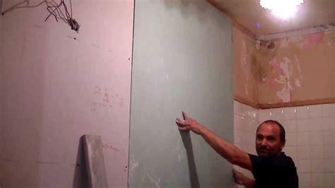plaque adhesive pour cuisine comment poser du placo collé au mur