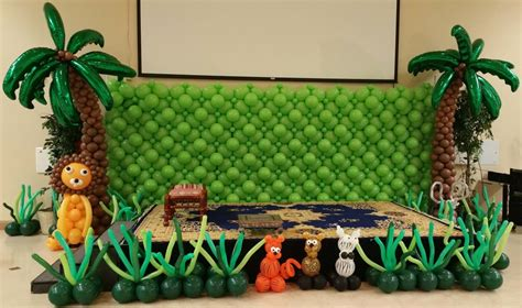 jungle theme party decoration  delhi gurgaon noida