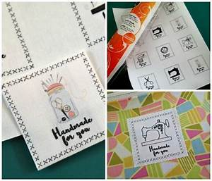 free tutorial fabric labels for handmade gifts by deby With fabric tags for handmade items