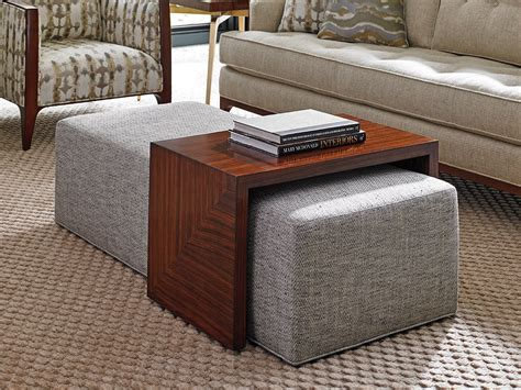 Maison arts velvet round ottoman with storage foot stool vanity stool seat dressing chair footrest side table tufted ottoman coffee table with golden metal leg. Take Five Broadway Cocktail Ottoman W/Slide   Lexington Home Brands   Coffee table, Ottoman ...