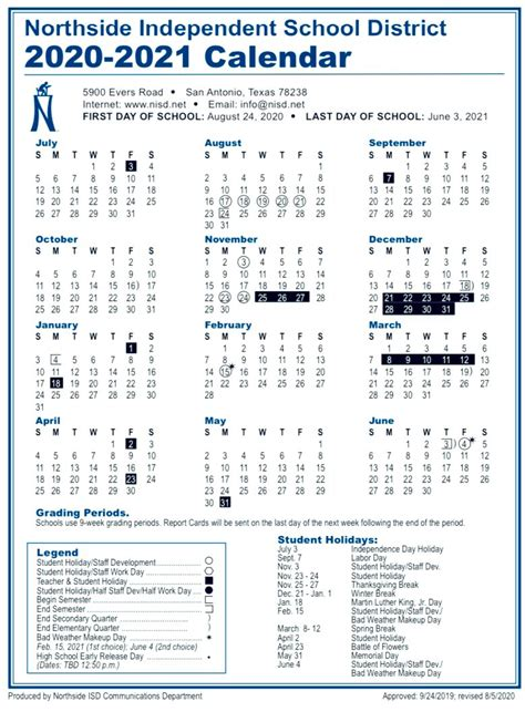 Nisd 2022 Calendar.N I S D 2 0 2 0 2 0 2 1 C A L E N D A R Zonealarm Results