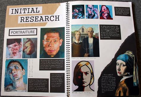 unit  personal study   art diary gcse art