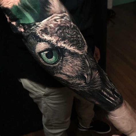realistic owl tattoos  tattoo ideas gallery