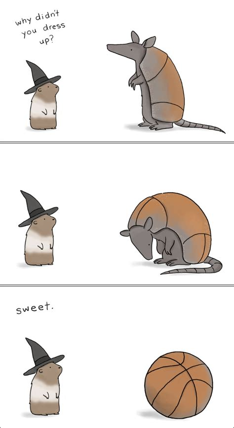 halloween animal comics  liz climo