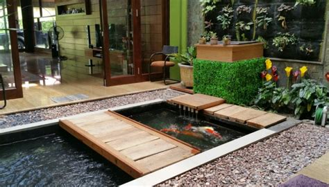 koleksi contoh gambar kolam ikan minimalis sakti desain