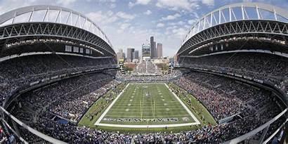 Seattle Seahawks Stadium Field Football Nfl Stadiums