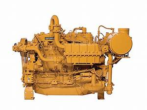 Cat Natural Gas Engine G3400
