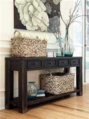 How To Decorate A Sofa Table A by Sofa Table For The Entry Way Or The