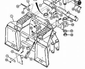 Case 1845c Skid Steer Loader Backhoe Parts Owners Service