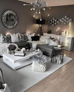 Awesome, 43, Modern, Glam, Living, Room, Decorating, Ideas, More, At, S, Decoratren, U2026