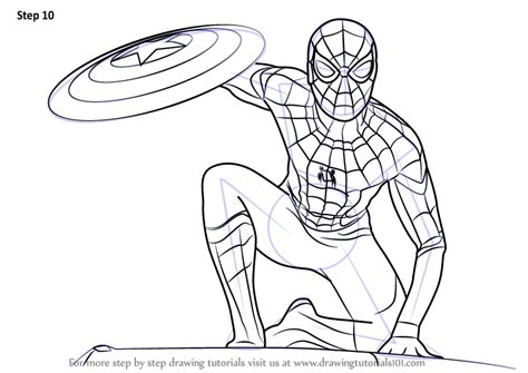 spiderman homecoming coloring pages  getcoloringscom