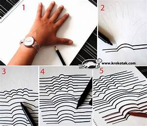 Creative Ideas - How to Make Easy 3D Drawing - i Creative