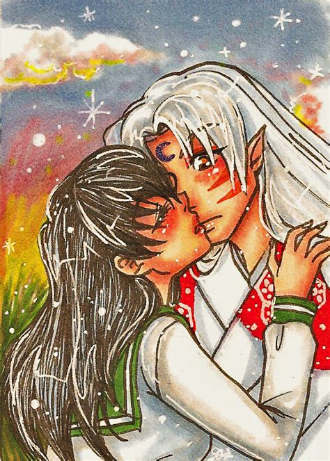 Aceo Steal A Kiss At Twilight By Roots Love On Deviantart