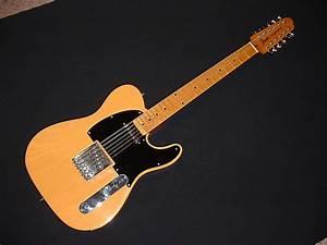 Fender  Conversion Telecaster 12 String Blackguard
