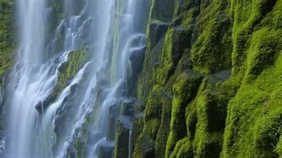 Oregon Wallpapers Desktop Cascade Waterfalls Mountains Proxy
