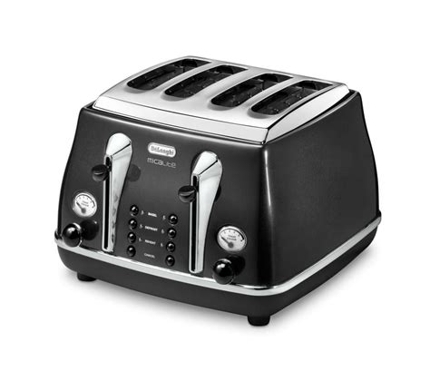Buy 4 Slice Toaster by Buy Delonghi Micalite Ctom4003 4 Slice Toaster Black