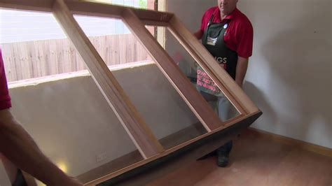 install  casement window diy  bunnings youtube