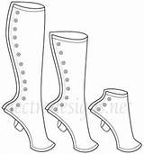 Gaiters Steampunk Spats Diy Pattern Heights Patterns Designs Costume Varying Lengths Shoes Electra Shoe Gibson Sewing Leg Cosplay Moda Warmers sketch template