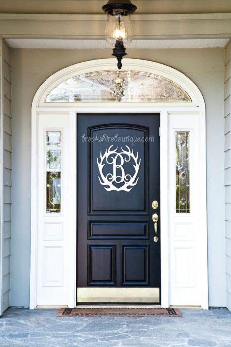 front door initialmonogram ideas