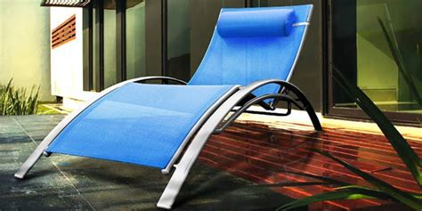 sun lounger blue buy sun lounger blue