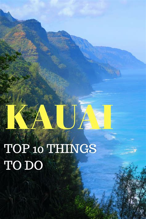 Top 10 Things To Do In Kauai  Hawaii Travel Guide