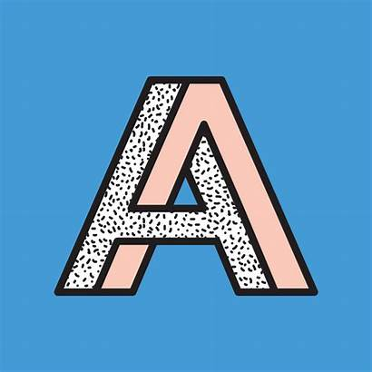 Typography Optical Illusions Illusion Impossible Moving Alphabet