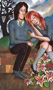 Lily and Severus Snape | Lily, Severus snape, Snape