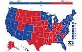 Polling Map with No Toss-ups