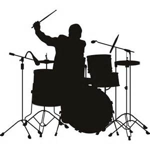 wedding band hong kong drummer silhouette wall stickers wall