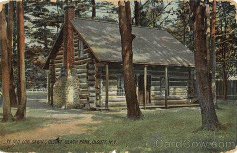 ye  log cabin olcott beach ny
